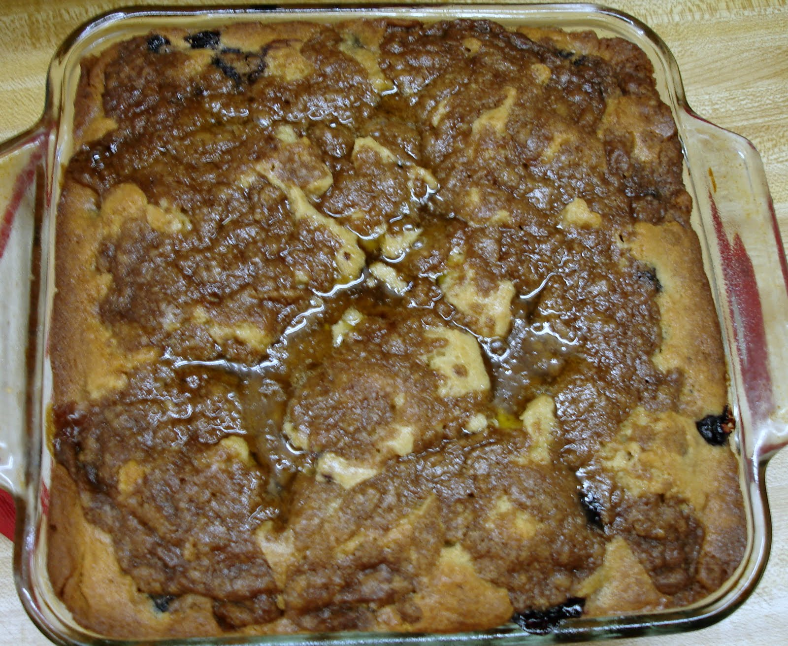Sunshine Mom: Blueberry Peach Buckle