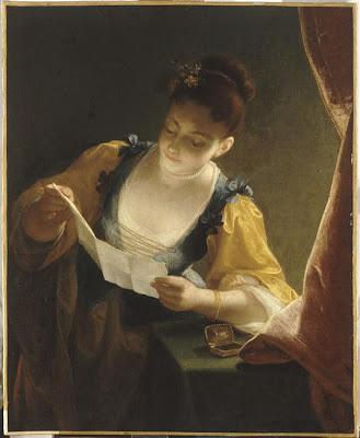 Jean+Raoux,+Jeune+fille+lisant+une+lettre,+mus%C3%A9e+du+Louvre