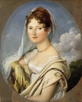 Ingres, un nouveau Picasso? en tout cas un érotomane Ingres,+Portrait+de+la+Comtesse+de+Larue.+Inscrit+n%C2%B01+Ingres+1812+au+dos