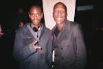 Comedian Dave Chapelle and Brad Bailey
