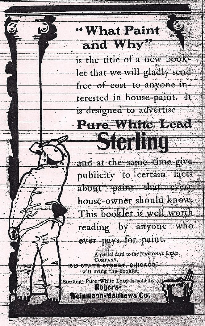 Dusty diary unsuspected dangers of the past for What are the dangers of lead paint