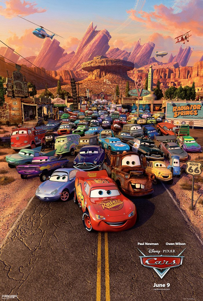 disney movie cars · thefabricfinder.com