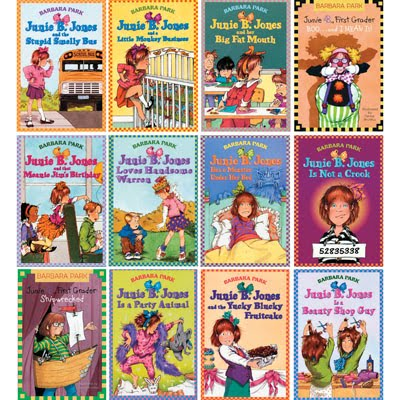 Junie B. Jones Books, Complete Set Of 27 Books By Barbara Park, New Free Ship
