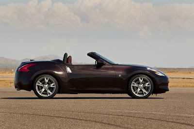 2010 Nissan 370Z Roadster Side View