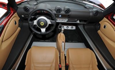 2011 Lotus Elise Interior