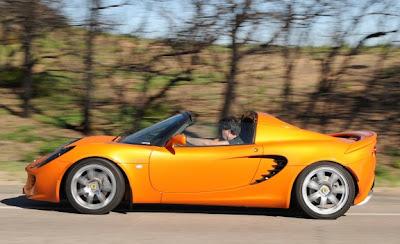 2011 Lotus Elise Side View