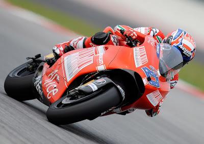 Casey Stoner Team Ducati