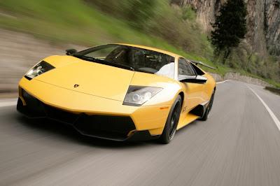 2010 Lamborghini Murcielago LP670-4 Front View