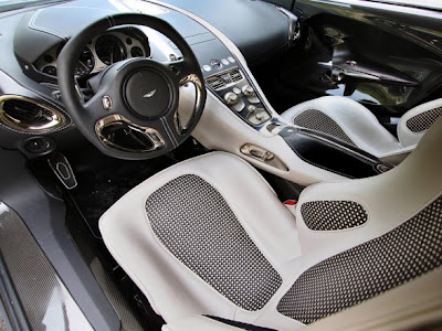 2010 Aston Martin One-77 Interior