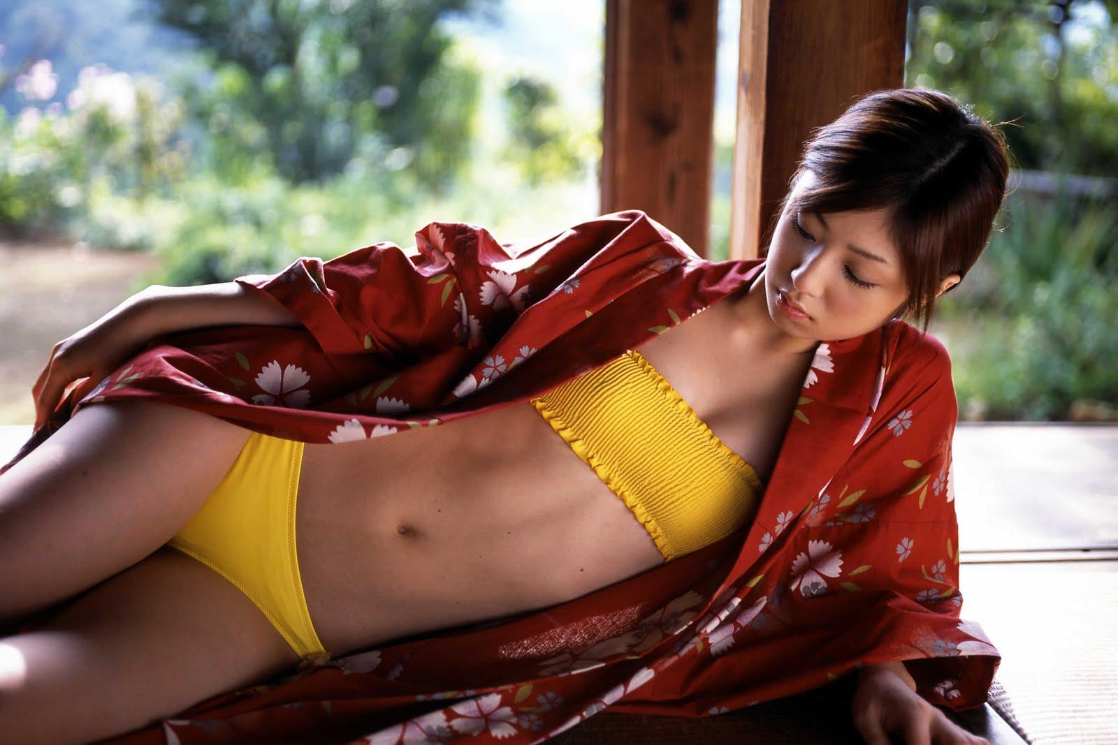 yuko ogura sexy kimono photos 01