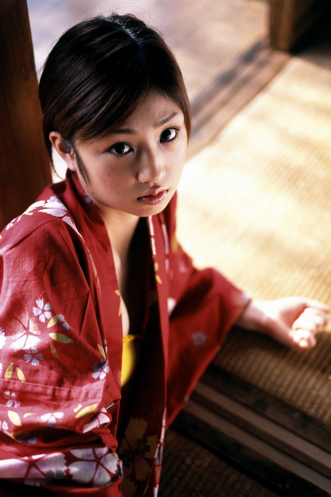 yuko ogura sexy kimono photos 05