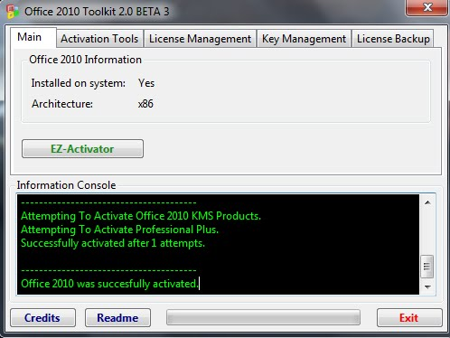 Maranhão Downloads: Office 2010 Toolkit - Ativador do Office 2010