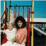 Sterling & Mom 1984
