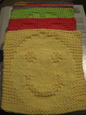 A Knitting Mountain Happiness Washcloth Pattern