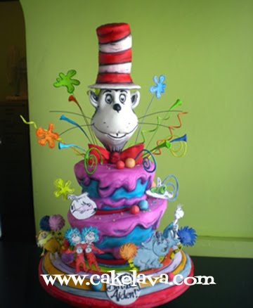 Cat In The Hat Cake Pops. cat in hat cake pops. cat in