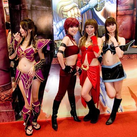 Chicas del Word Of Warcraft