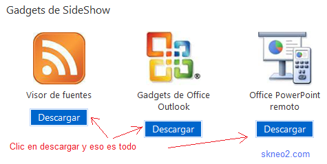 Descargar Gadgets para Windows 7 gratis