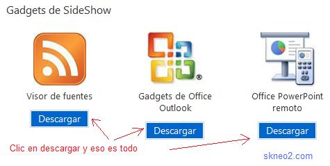 Descargar Gadgets para Windows 7 gratis