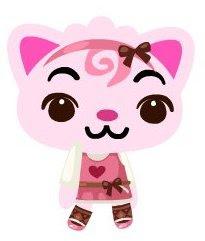 Meet Kiss, my pink pet