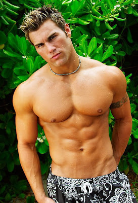 Hot Guys with Shirt Off