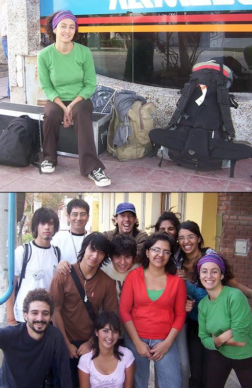 La Cinta Corta en la ciudad de Allen, provincia de Río Negro, al sur de la Argentina