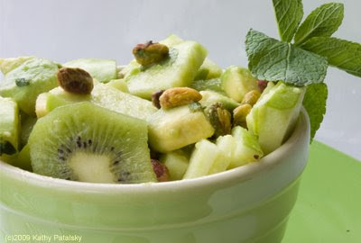 Green Salad Recipes with Fruit and Nuts