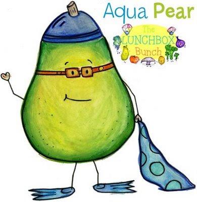 aqua pear