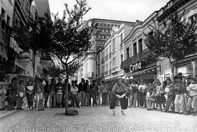 Rua xv de novembro em 1984