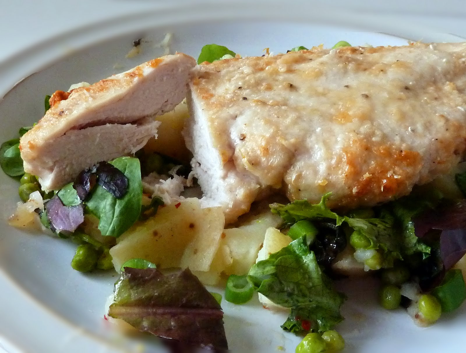 This is a really quick and very tasty meal. The chicken stays superbly ...