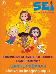 Personalize seu material escolar gratuitamente