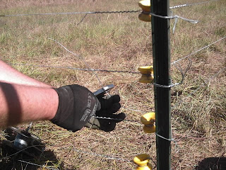HOW TO INSTALL ELECTRIC FENCE INSULATORS | EHOW