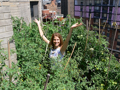 Valerie and Our Urban Garden
