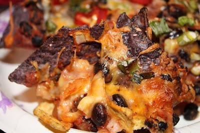 Black Bean Nachos and Blood Orange Margaritas - Aggie's Kitchen