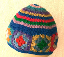 Stripey 70's Hat