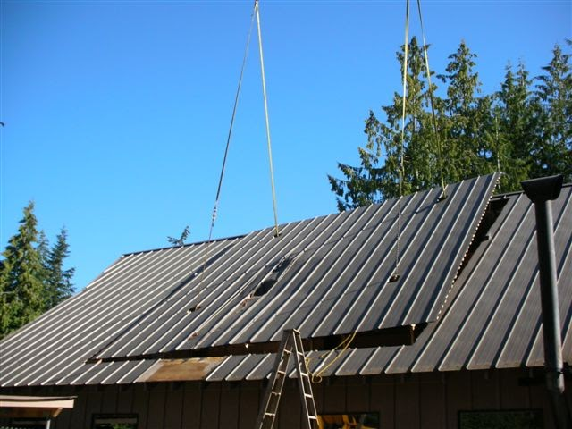 I love metal roofs do it yourself project steve s
