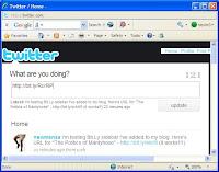 Twitter Micro-Blogging