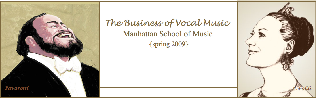 The Business of Vocal Music...