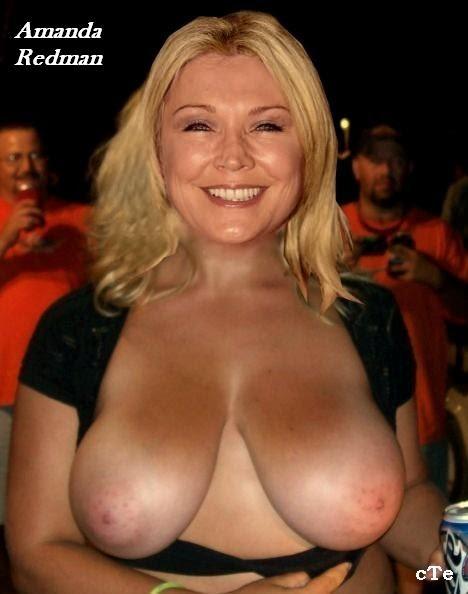 amanda redman nude fakes