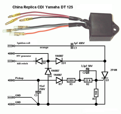 7 1 10 8 1 10 techy at day blogger at noon and a hobbyist at this is the diagram of a replica cdi capacitive discharge ignition of yamaha dt125 2 stroke machine the circuit can be used on other existing