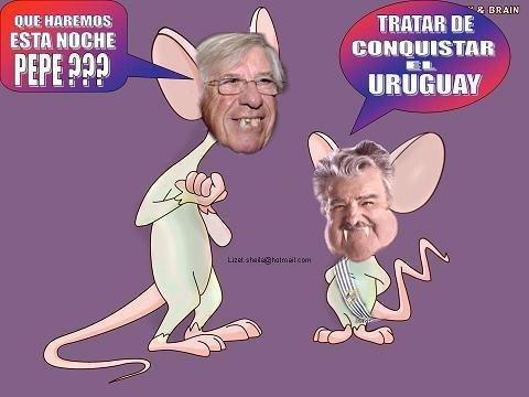 Políticos uruguayos en caricatura. Actualizado