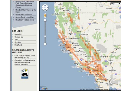 State Geologists California S Earthquake Fault Zone Maps Online