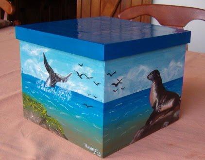Manualidades ana karina cajas de madera decoradas - Manualidades decorar cajas de madera ...