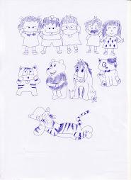 ภาพวาดการ์ตูน 2