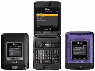 LG Launches Lotus Clamshell for Sprint