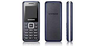 E1110 and E2510, two new basic cell phones from Samsung