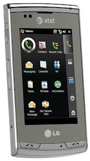 AT&T Debuts LG Incite Global 3G Smartphone