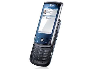 KT770, a Symbian S60-based LG slider cell phone
