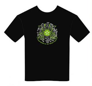 camiseta de jardinería de guerrilla