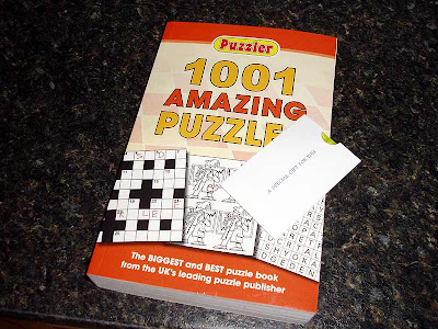 A new puzzle book, thanks Granny!