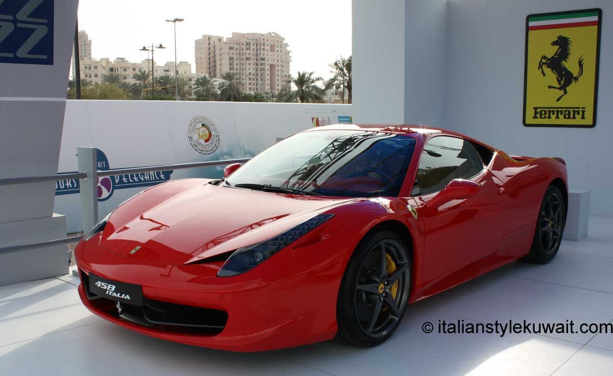 ferrari 458 italia lights